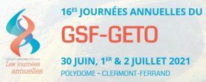 Logo Congrès GSF GETO 2021